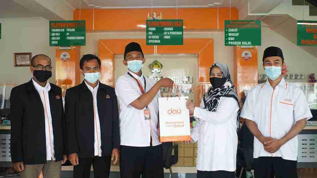 lazdau-LAZ DAU Berkunjung Ke Kemenag Kota Malang